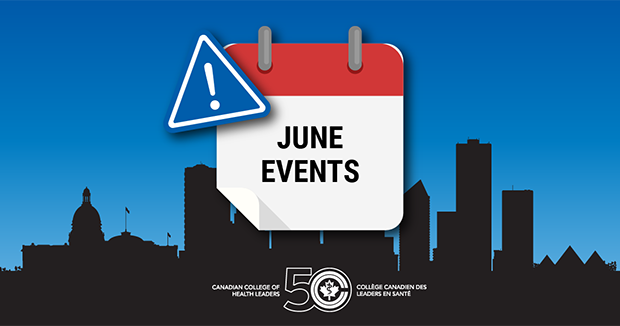 CCHL June Events - Calendar image